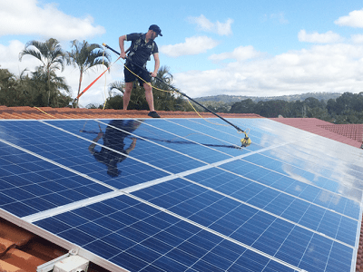 clean solar panels in gauteng and johannesburg