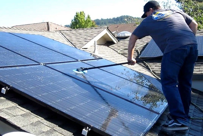 clean solar panels diy guide